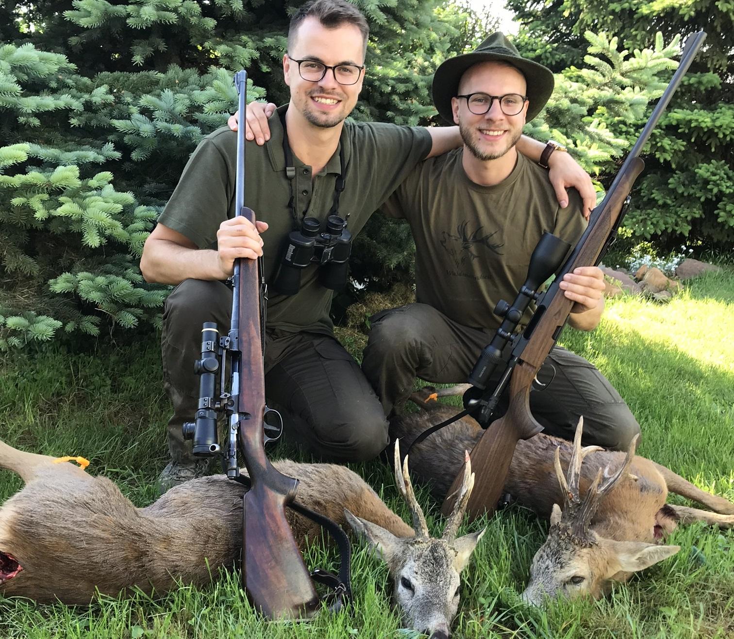 Roe buck hunting in SLOVAKIA - season 2020